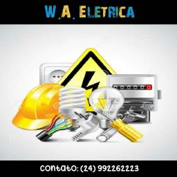 W.A. Elétrica - Elétrica RESIDENCIAL
