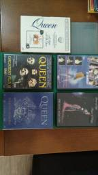 Cinco DVDs da Banda Queen - Barbada! Estado de novo!