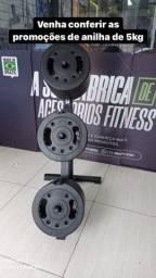 Título do anúncio: Promoção anilhas  de 5kg