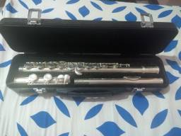 Título do anúncio: Flauta transversal Eagle semi nova