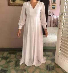 Vestido branco - noivado, casamento, pre wedding