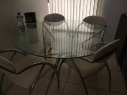 mesa de vidro usada