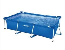 Título do anúncio: Piscina Estrutural 1662Litros 220x150x60cm Intex (Nova)