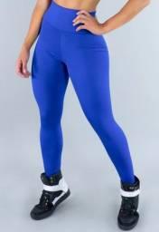 Título do anúncio: Calça Legging Mvb Modas Cintura Alta Azul