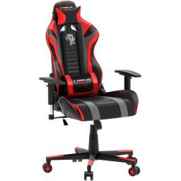 Título do anúncio: Cadeira Gamer ElG Black Hawk C/Apoio Cervical - Encosto Reclinável - CH05BKRD