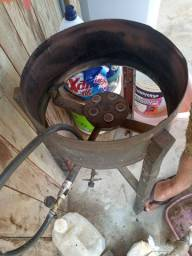 Título do anúncio: Vendo fogão e taxo de fritar salgados