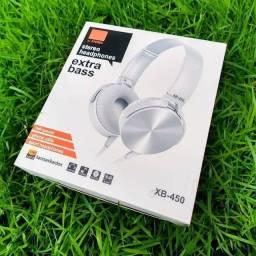 Fone De Ouvido Com Fio Jbl Xb-450 Extra Bass Headphone