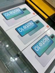 Xiaomi Note 10 128gb    4/6gb ram tela 6.43 lacrados novos