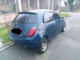 Ford Ka action 1.6 azul Maresias