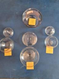 Bombonier  3 peças   e 1 refrataria   desapego