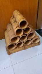 Adega artesanal em bambu - Apucarana