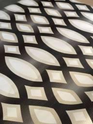 Papel de Parede 3D Geométrico 5 metros