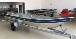 Barco de aluminio 6m pety 600 - 2018