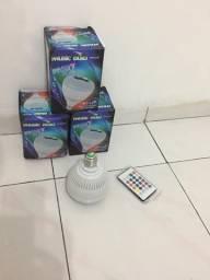 Lâmpada/ Bluetooth/ caixa de som Portatil