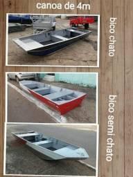 Canoa de aluminio. mundo da pesca. anapolis go - 2018