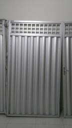 Portão de Alumínio Para Garagem