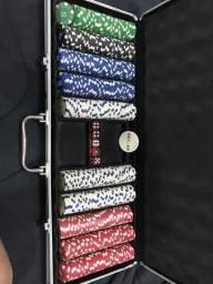 Maleta de fichas de poker