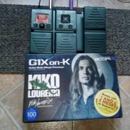 Pedal G1X on-K Edição Kiko Loureiro