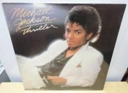 Lp Thriller Michael Jackson Com Capa Dupla/ Poster Central