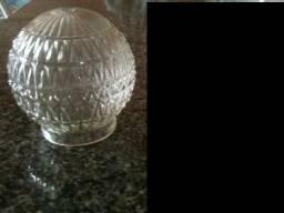Globo antigo para luz luminaria antigo usado vidro para lampada