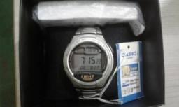 Relógio Masculino Digital Casio W-734D - Original