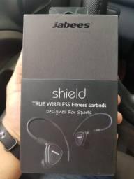 Fone de ouvido sem fio Jabess Shield