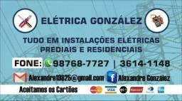 Eletricista de manutenção e instalações em geral watss 987687727
