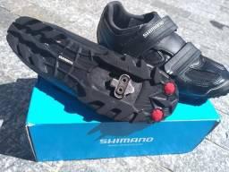 Vendo minha sapatilha MTB Shimano