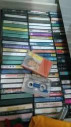 Fitas VHS e K7 anos 70 - 80 - 90 até 2000