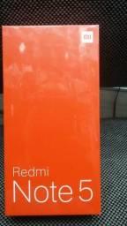 Celular Redmi Note 5. Novo lacrado. zero.