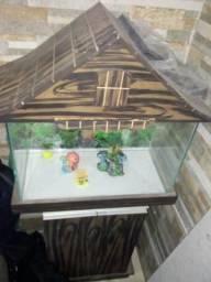 Vendo aquário com o armarinho