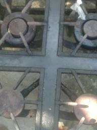 Fogão Industrial 4 Bocas 6 queimadores