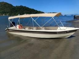 Lanchas ideal para taxi boat e ou pesca, lazer - 2018