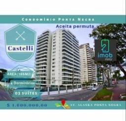 Castelli 4 quartos sendo 3 suites, ap todo reformado 100% mobiliado