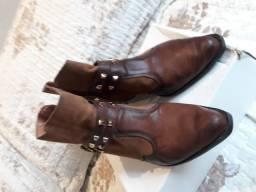 Bota Estilo Cowboy - Cor Caramelo - N37