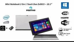 Notebook Positivo Touch Screen 2 em 1 Tablet, Windows 8.1