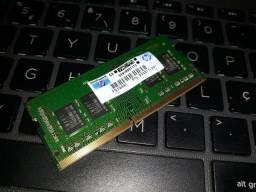 Memória RAM 8gb DDR4 Notebook original HP