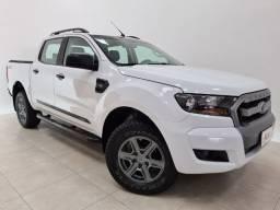 Ranger cab dupla xls 2.2 diesel 4x4 mt 2017 aceito troca