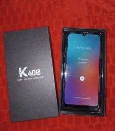 LG K40s Semi novo na caixa