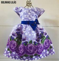 Vestido Luxo Coleção Floral
