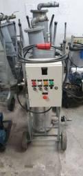 Centrífuga equipamentos para purificação de óleo