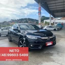NETO - Honda Civic EX 2.0 2018/18 - 31 mil km - 2018