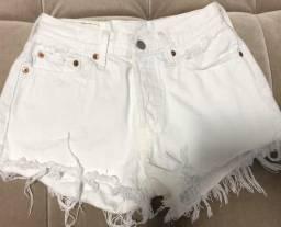 Shorts jeans branco tam 36 LEVIS TORRANDOTORRANDO