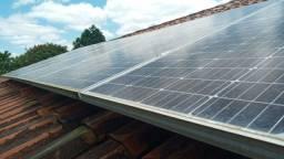 Sistema solar para geração de energia elétrica de 7 kWp, ótima oportunidade