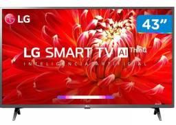 """Smart TV Led 43"""" LG 43LM6300PSB Full HD Bluetooth,"""