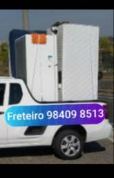 Serviço de logística d Freezer Frigobar geladeira poltrona bicama rack painel balcão