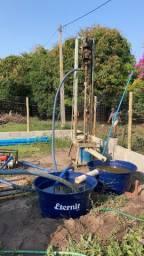 Perfuração de poços artesianos semi artesiano
