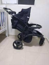 Vendo ou troco carrinho + bebe conforto off road