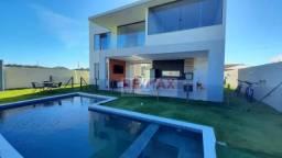 Casa no Cond. Alphaville Litoral Norte 3 com 4 suítes - 304 m² por R$ 1.690.000 - Alphavil