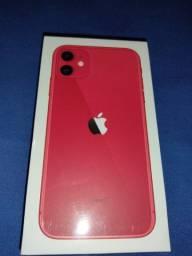 Iphone 11 red 64gb (lacrado e com nota fiscal)
